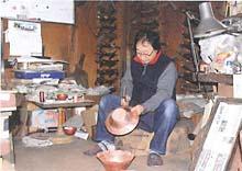 新潟県の伝統的工芸品 燕鎚起銅器